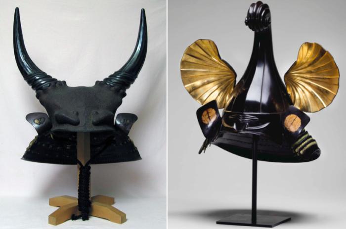 Два шлема периода Эдо (XVI-XVII века)