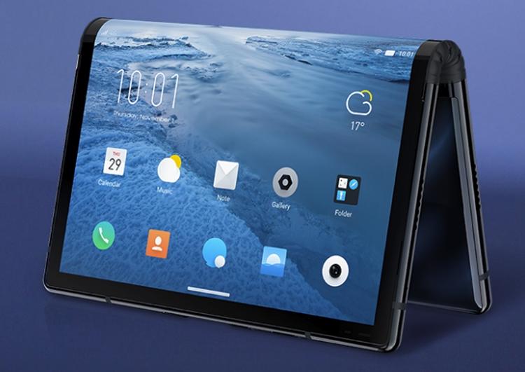 Royole FlexPai: смартфон с гибкой конструкцией на непредставленном чипе Snapdragon