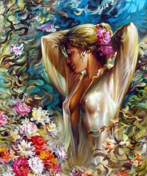 женский образ Аркадий Острицкий - 06
