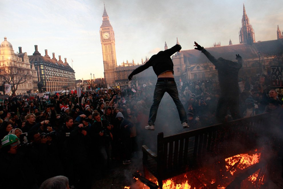 В случае блэкаута анархия охватит Британию за пару дней