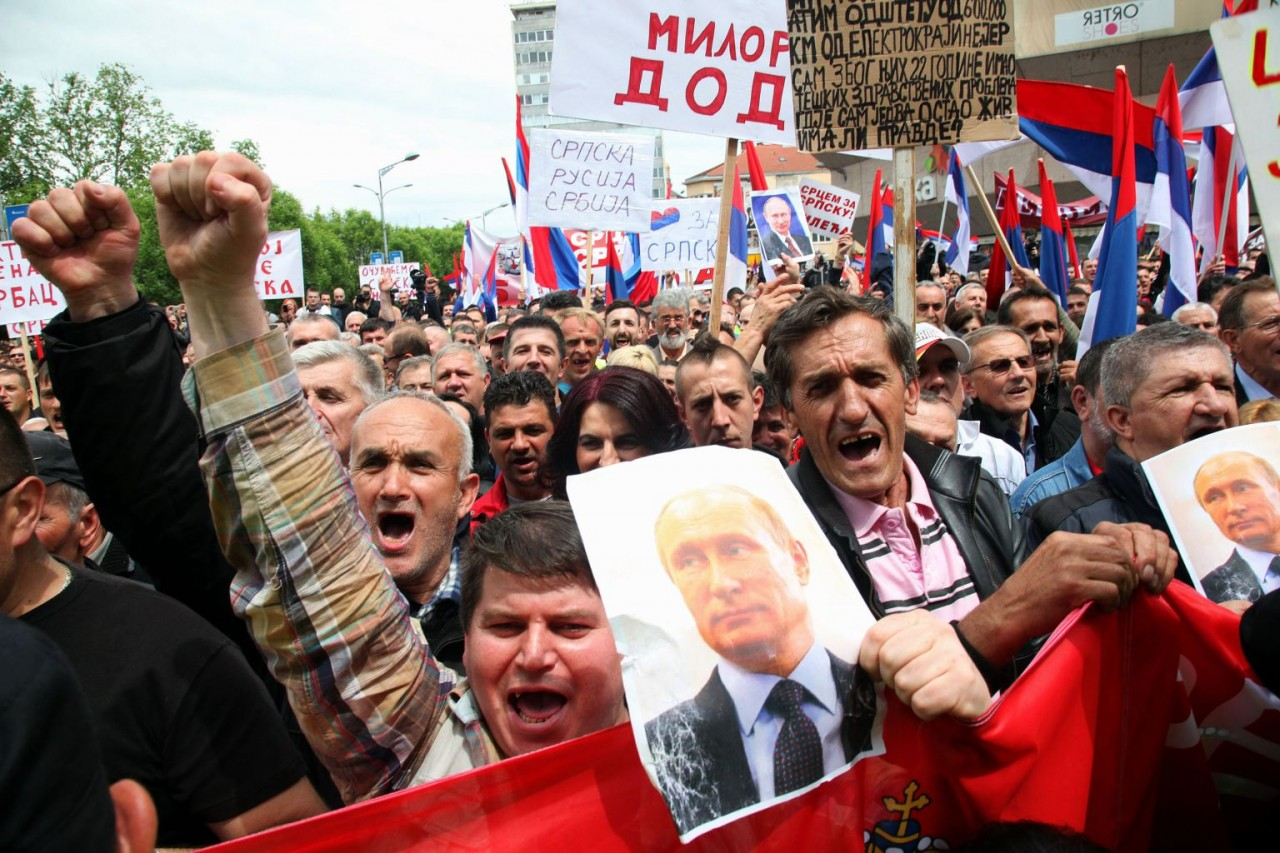 Путин создает боснийские вое…