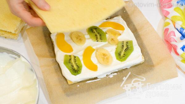 Торт Молочная Девочка фото к рецепту 14