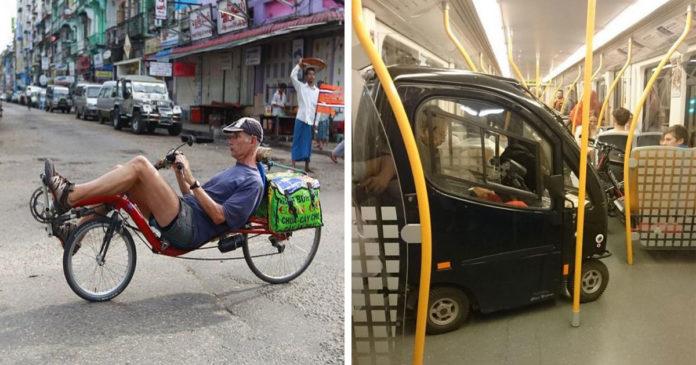 20 людей, которые предпочитают пользоваться нестандартными видами транспорта