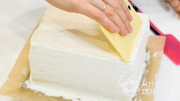 Торт Молочная Девочка фото к рецепту 15