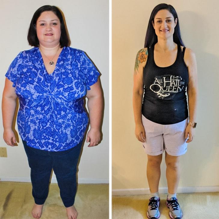 Примеры Похудения На Фото. «До и После» похудения: 30 впечатляющих фото
