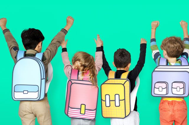 Знак вопроса. Как сохранить позвоночник школьника здоровым?