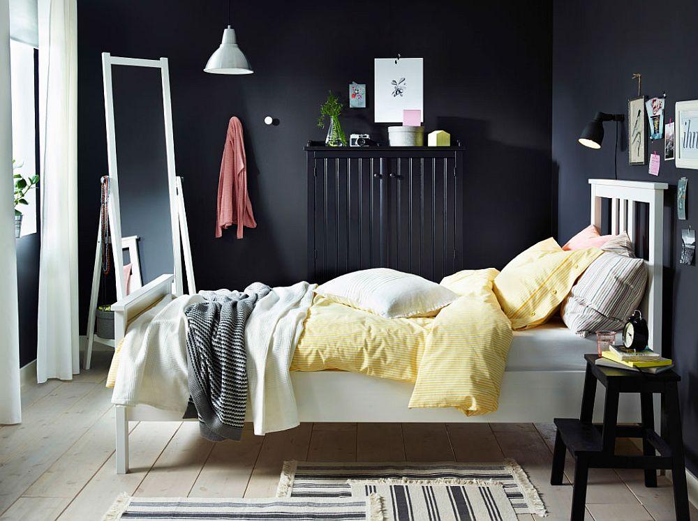 Графическое решение дизайнерского интерьера спальни