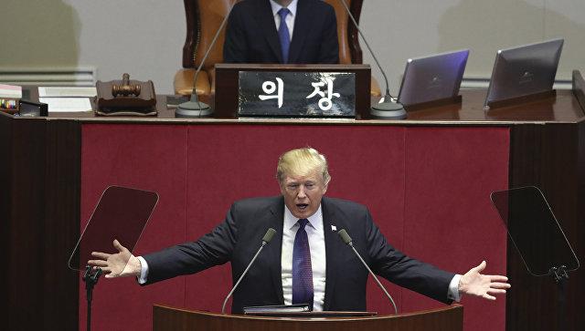 Трамп сравнил Северную Корею с адом