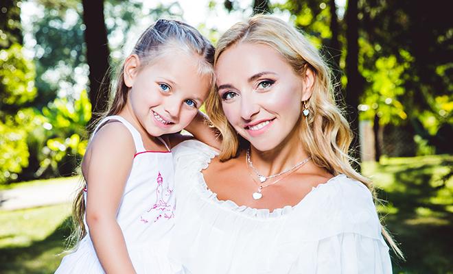 """Татьяна Навка: """"Надя очень артистичная - вся в родителей"""""""