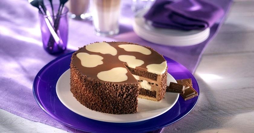 Многослойный шоколадный торт «Милка»: нежное угощение для всех