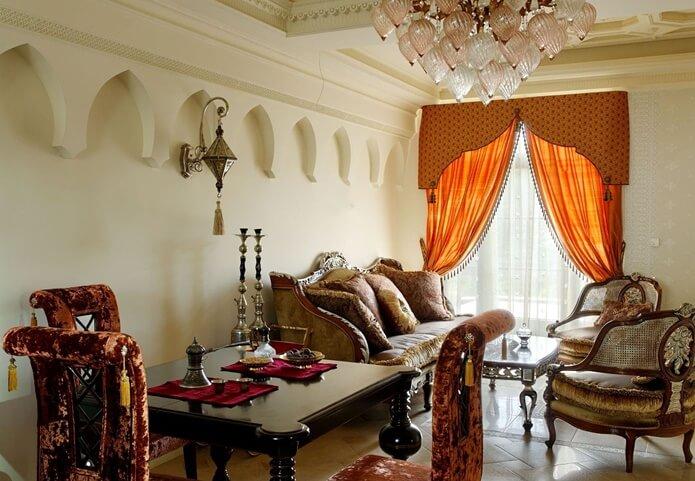 Этнические стили интерьера. Арабский стиль