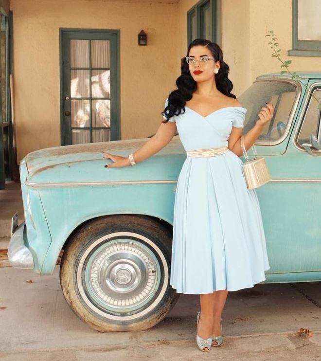 Мода идет по кругу, и сейчас она возвращается к образам 50-х годов