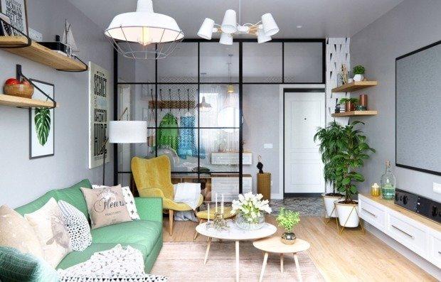 Уютная квартира в скандинавском стиле: проект в Питере