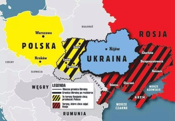 В Киеве уверены, что Польша и Россия готовят раздел Украины
