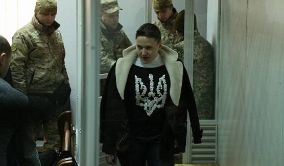 ВКиеве началось судебное заседание поделу Надежды Савченко