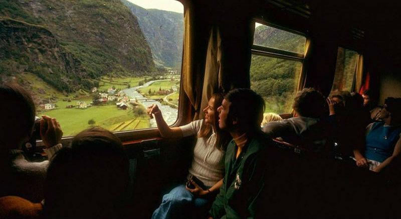 Путешествие по Европе 1970-го на поезде