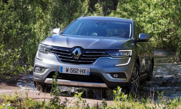 Renault Koleos в России: дизель и новые цены