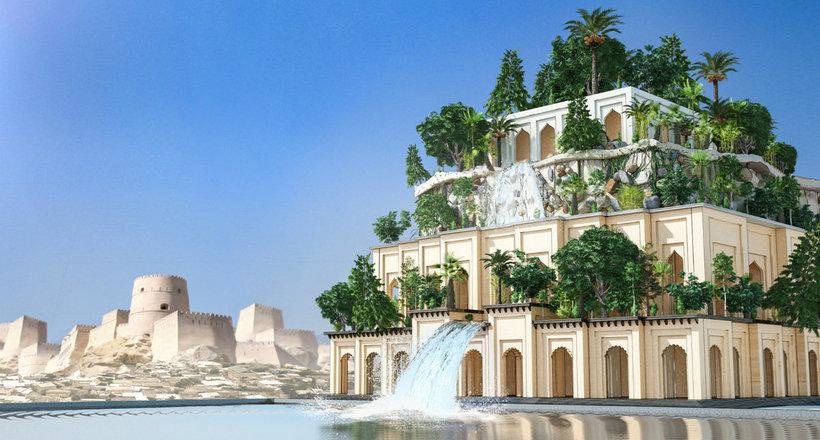 Висячие сады Семирамиды: существовали ли они на самом деле