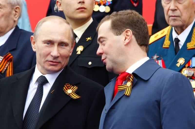 Операция «Преемник»: в 2024 году Путина может вновь «подменить» Медведев Политика