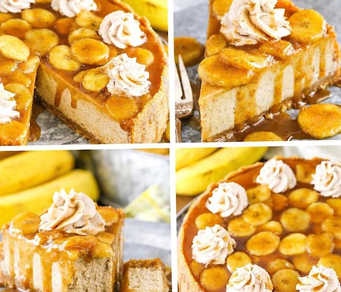 Божественно вкусный банановый чизкейк
