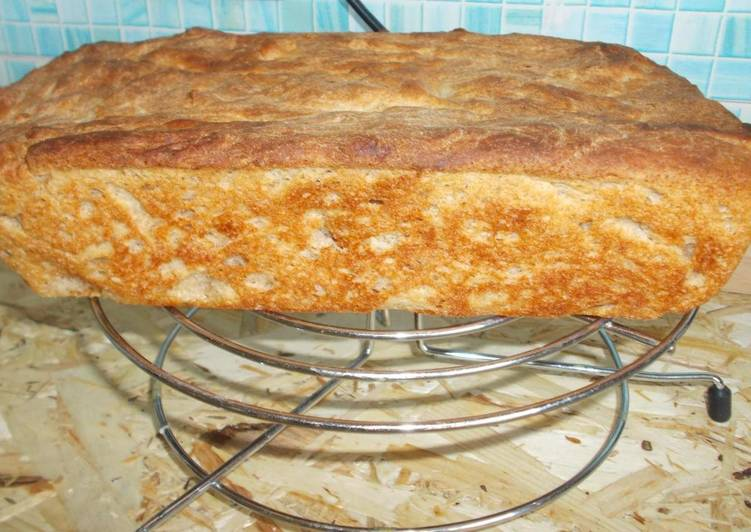Хлеб ржано-пшеничный, простой рецепт выпечки хлеба в духовке