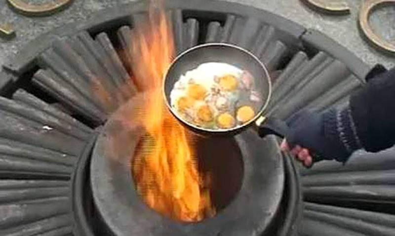 Европа разрешила жарить яичницу на Вечном огне