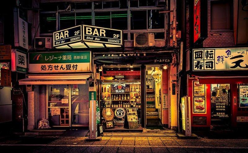 Полночная тьма красота, мечта, путешествие, страна, фотография, фотомир, япония