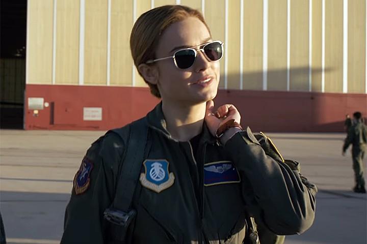 """Вышел первый официальный трейлер к фильму """"Капитан Марвел"""""""