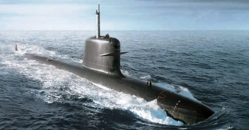 Неатомные подводные лодки с анаэробными энергетическими установками вмф
