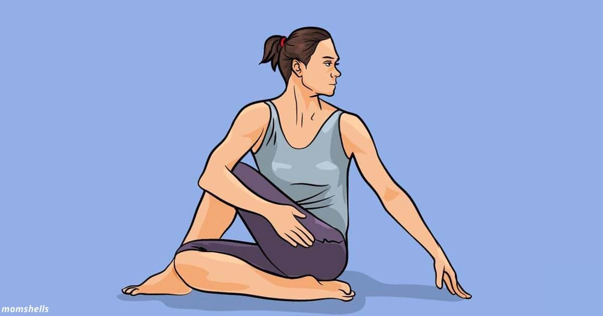 7 поз йоги, которые улучшат метаболизм и избавÑÑ' от запоров