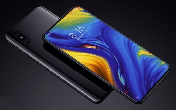 Xiaomi анонсировала флагманский смартфон Mi Mix 3 с выдвигающейся камерой
