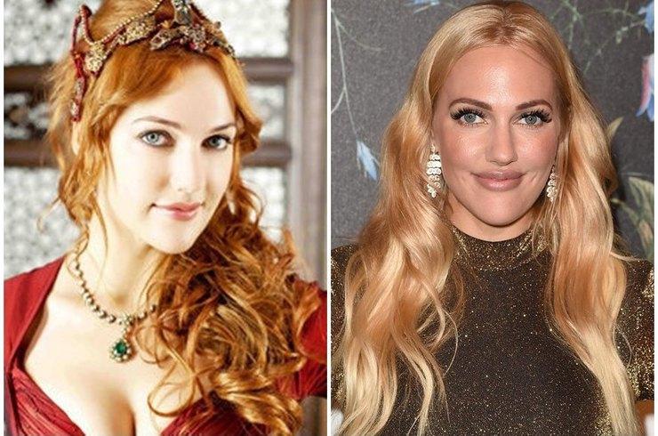 Роксолана уже не та. Турецкая актриса Мерьем Узерли изменилась до неузнаваемости.