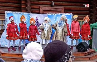 В московских парках начались рождественские гуляния