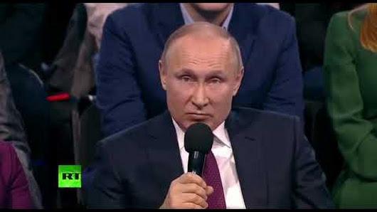 Путин на вопрос «Какое событие вы хотели бы изменить?