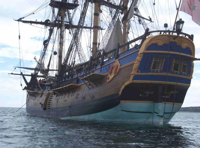 Найден корабль капитана Кука — «Индевор»