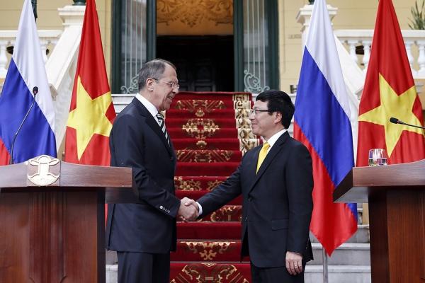 Главы МИД России иВьетнама уверены вукреплении двусторонних отношений