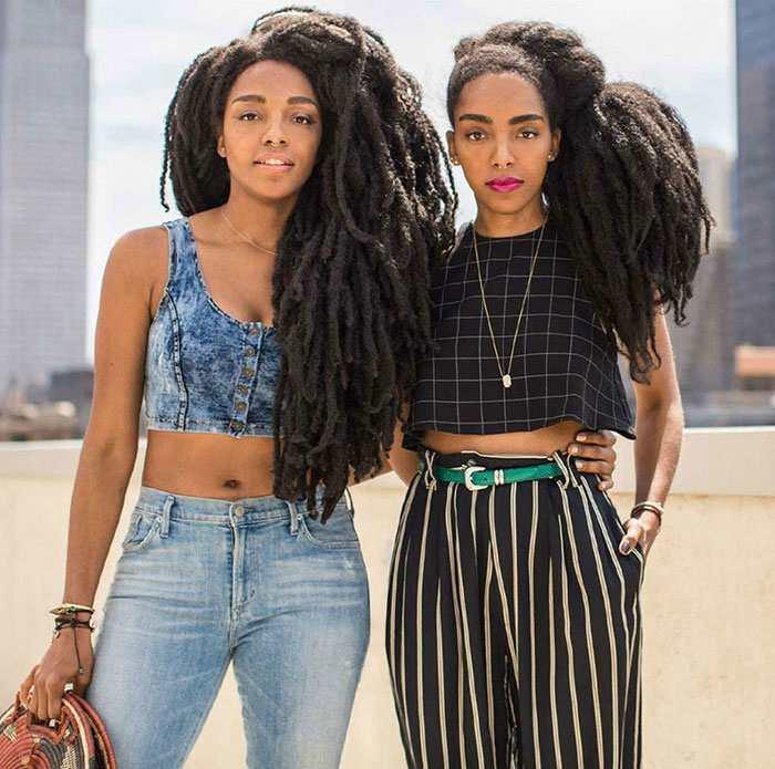 Сёстры-близнецы пленили Инст…