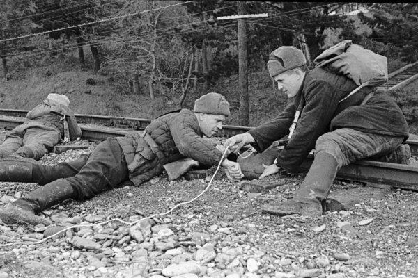 «Рельсовая война» и другие способы борьбы советских партизан