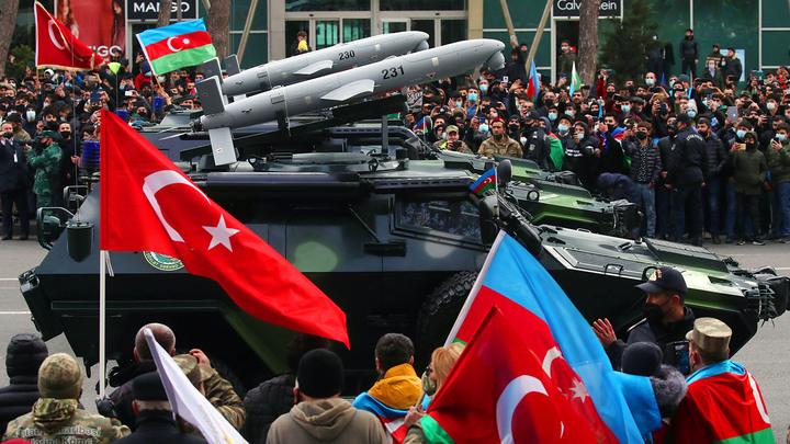 Предательство Путина: Алиев сдал Азербайджан Эрдогану геополитика