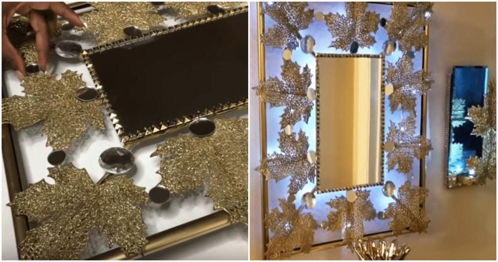 Декорированные зеркала с подсветкой — эффектное дополнение к обстановке