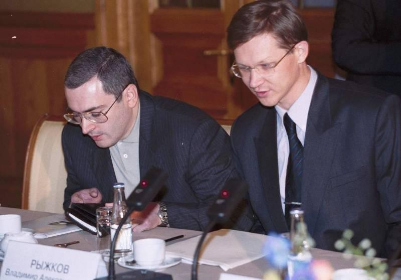 Ходорковский передумал быть …