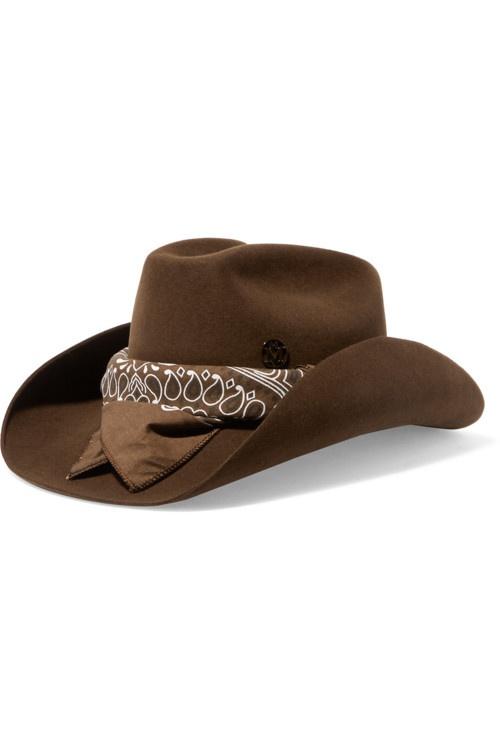 Шляпа с банданой Maison Michel