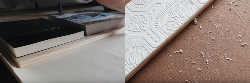 Сделать из самого обычного и дешевого комода стильный помогут обои интерьер,переделки,своими руками,сделай сам