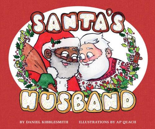 В США и Канаде поступила в продажу детская книга о гее Санте-Клаусе.