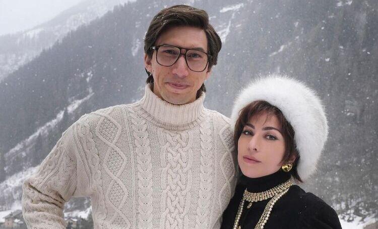 Не узнать: первое фото Леди Гаги и Адама Драйвера со съемок фильма об убийстве Маурицио Гуччи его женой Патрицией Кино,Кино