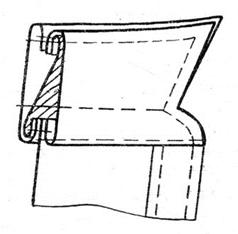 Шъём  женское платье или блузку выкройка платья