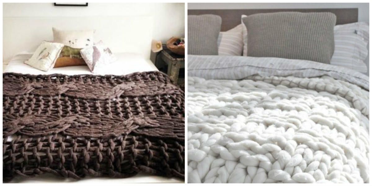 Вязаные вещи в интерьере. Идеи для создания уюта в доме вязание,для дома и дачи,интерьер