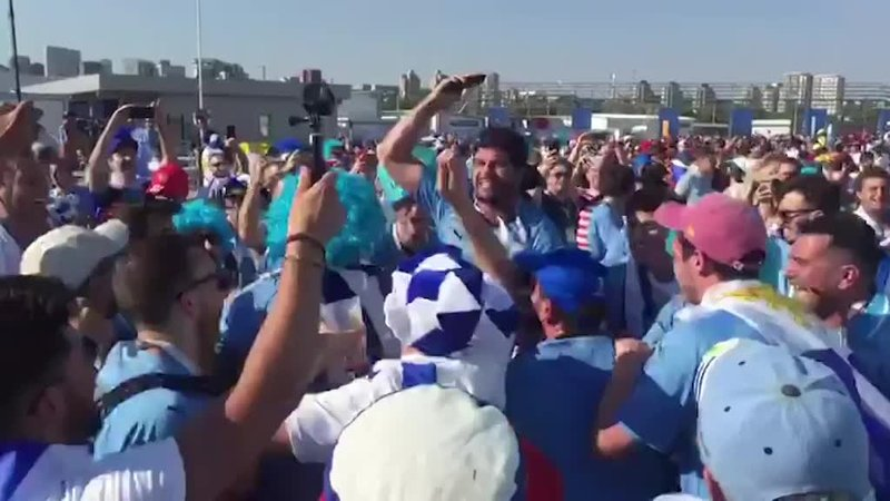 Уругвайцы в Ростове