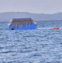 В Танзании в каюте потерпевшего крушение парома обнаружили выжившего механика