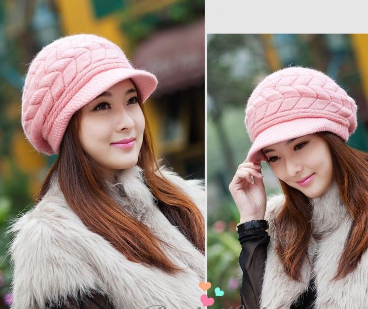 Вязание крючком женских шапок для осени